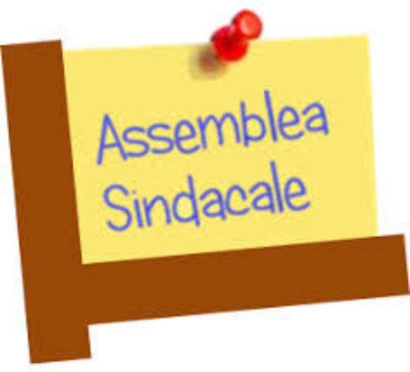 Assemblea sindacale 12 maggio