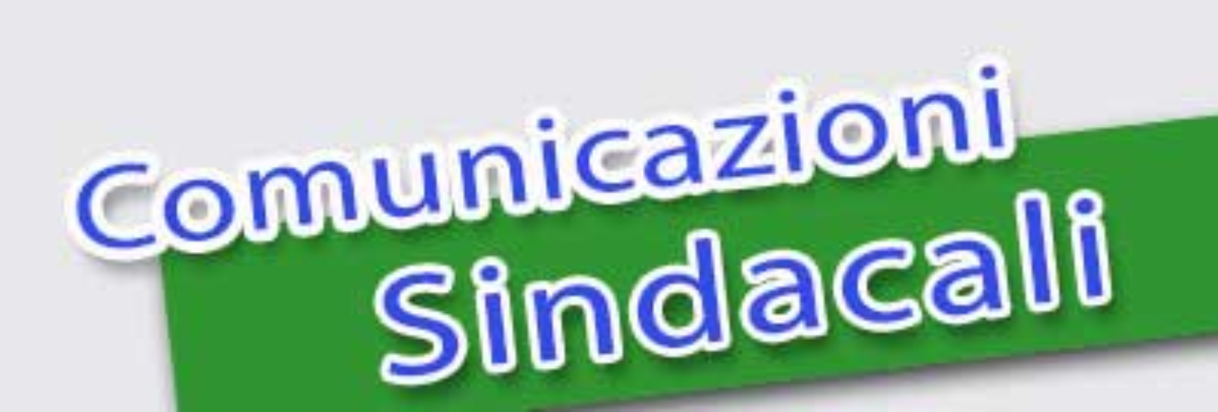 Comunicazioni Sindacali
